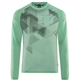 ION Traze AMP Camiseta Manga Larga Hombre, sea green